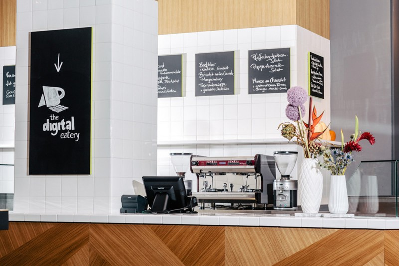 Microsoft Berlin: Cafébereich der Digital Eatery - 2