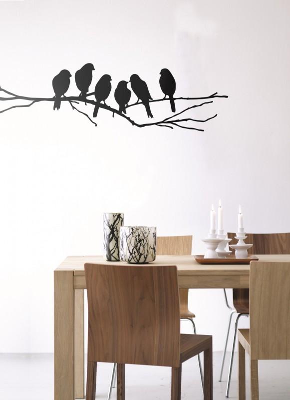 Home&Deko Wandtattoos Lovebirdskl